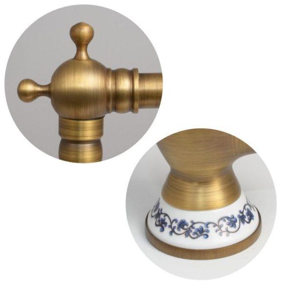 YOKA Giana vintage mosogató csaptelep - antik arany
