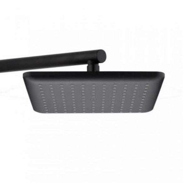 Yoka Loft többfunkciós zuhanyrendszer csapteleppel - fekete