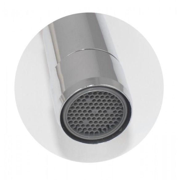 Yoka flexibilis fali mosogató / mosdó csaptelep - fehér