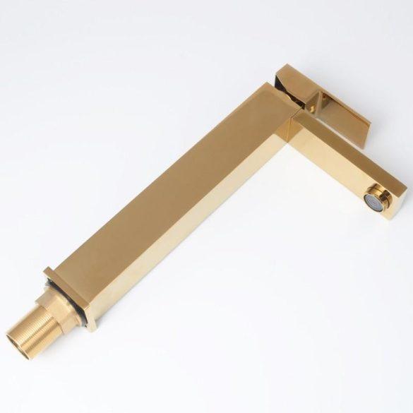 YOKA Grand magasított fürdőszobai mosdó csaptelep - arany
