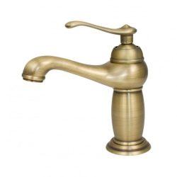 Yoka Malaga rusztikus mosdó csaptelep - antik arany