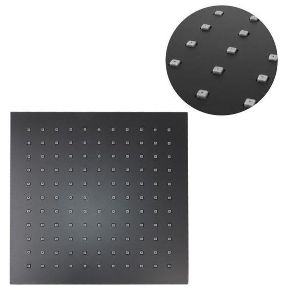 Yoka Cube-25 3 funkciós zuhanyrendszer termosztátos csapteleppel - fekete