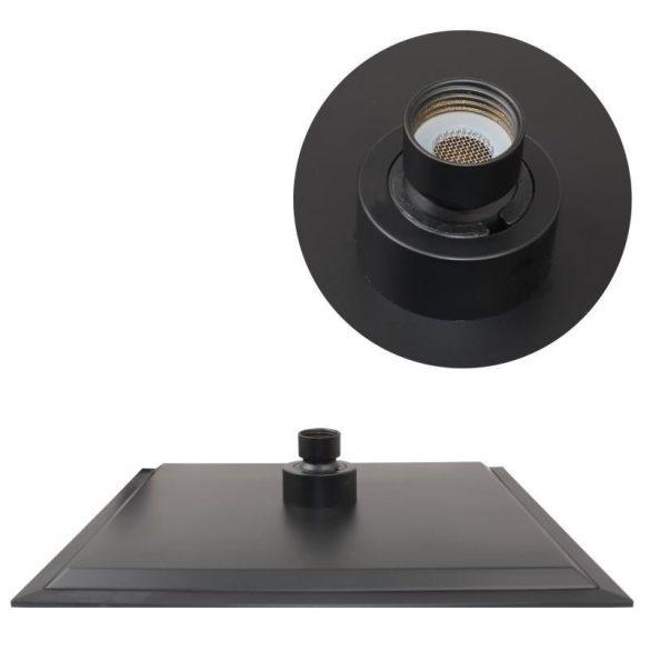 Yoka Oslo-30 többfunkciós zuhanyrendszer csapteleppel - fekete