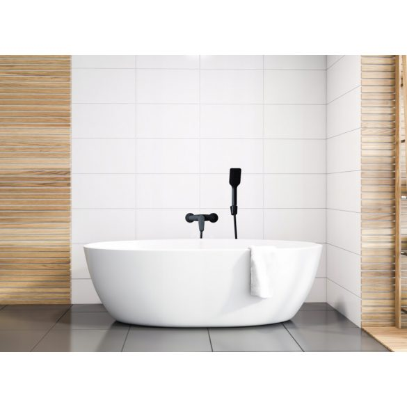 Yoka Bolo zuhany csaptelep + zuhanyrózsa gégecsővel - fekete