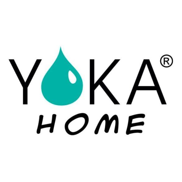 Yoka Home Ruma kádtöltő csaptelep zuhanyrózsával - fekete