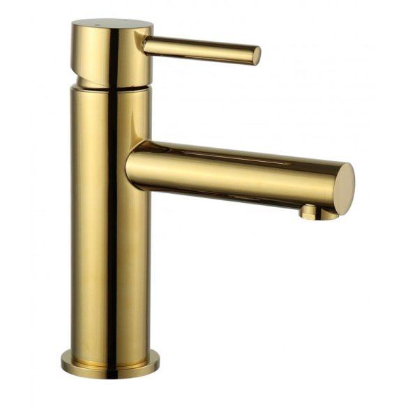 Mexen Elba mosdó csaptelep - arany (74100-50)