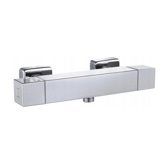 Mexen Cube termosztátos zuhany csaptelep - króm (77200-00)