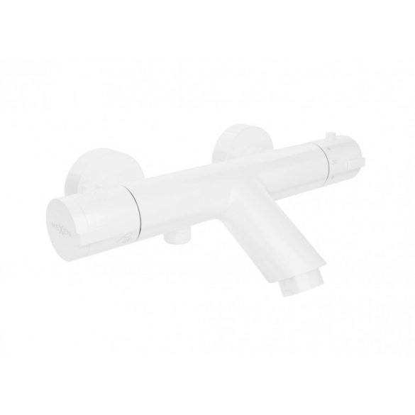 Mexen Kai termosztátos kádtöltő csaptelep - fehér (77300-20)
