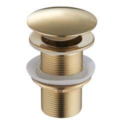 Mexen klikk-klakk önzáró mosdó leeresztő szelep - arany (79910-50)