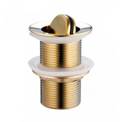 Mexen önzáró mosdó leeresztő szelep - billenthető - arany (79913-50)