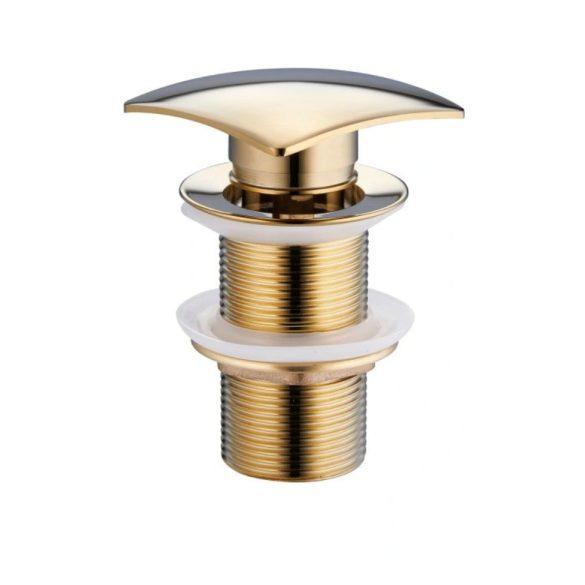Mexen önzáró mosdó leeresztő szelep - arany (79916-50)