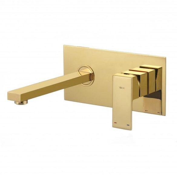 Yoka Home rejtett fali mosdó csaptelep - arany