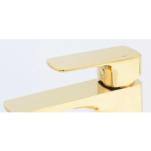 Gamma Cubic mosdó csaptelep - arany