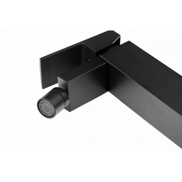Gamma Cube Black bidé csaptelep - matt fekete