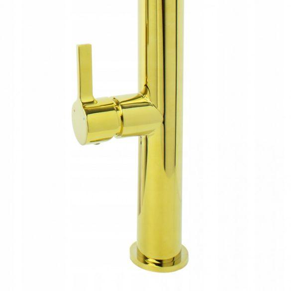 Gamma Spiral Gold mosogató csaptelep - arany