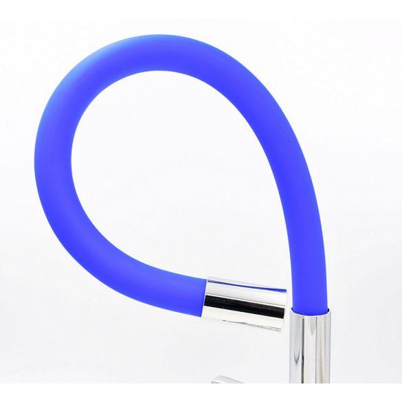 FLEXI Elsztikus Mosogató Csaptelep - Hajlítható - Kék
