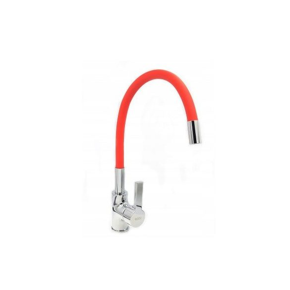 FLEXI Elasztikus Mosogató Csaptelep - Hajlítható - Piros