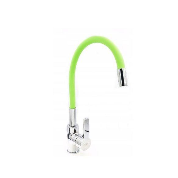FLEXI Elasztikus Mosogató Csaptelep - Hajlítható - Zöld