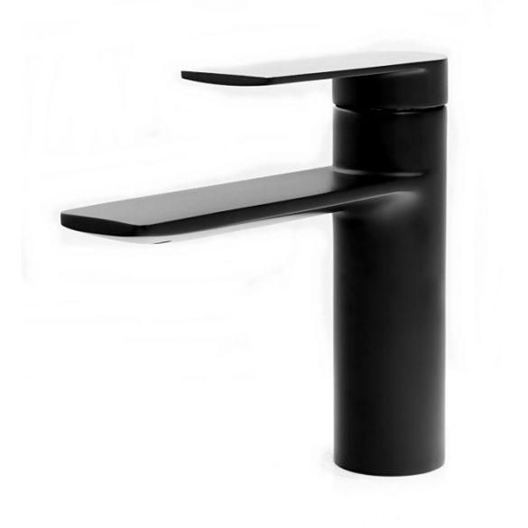 Gamma Aqua 3in1 mosdó + kádtölő csaptelep + zuhanyrózsa - fekete