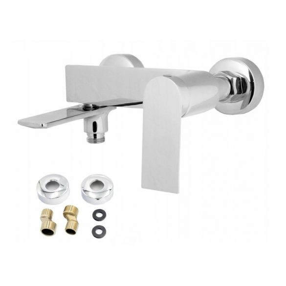 Gamma Aqua 3in1 magas mosdó + kádtölő csaptelep + zuhanyrózsa - króm