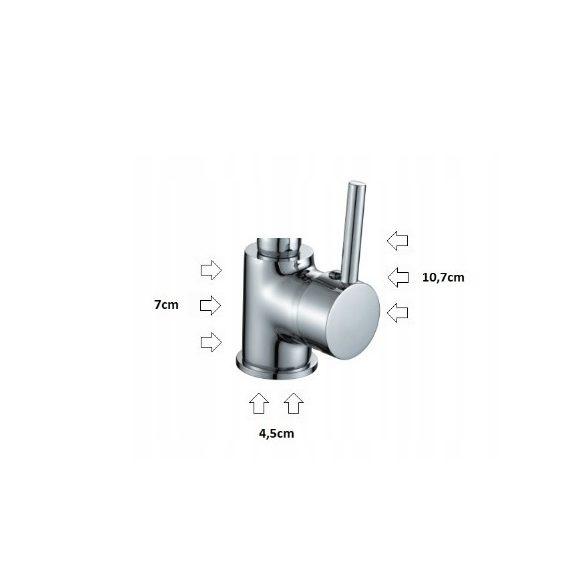 Laveo GMA129BI - Mosogató csaptelep - Hajlítható, Zuhanyfejes - (fehér)