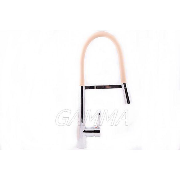 Gamma Nex mosogató csaptelep - bézs / króm