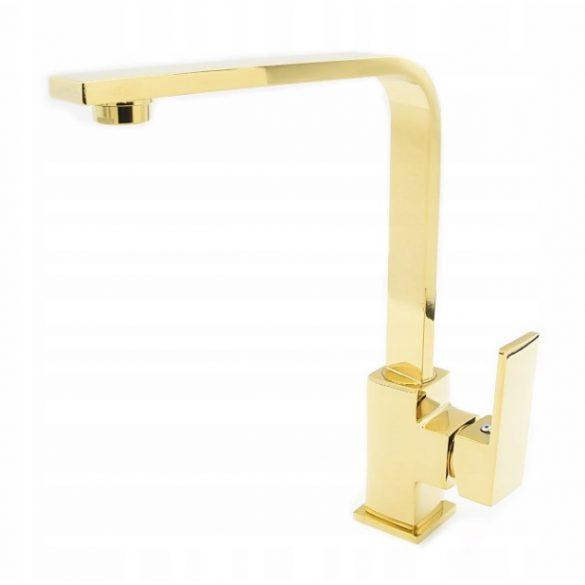 Gamma Gold Design Gránit mosogató Csaptelep - Arany
