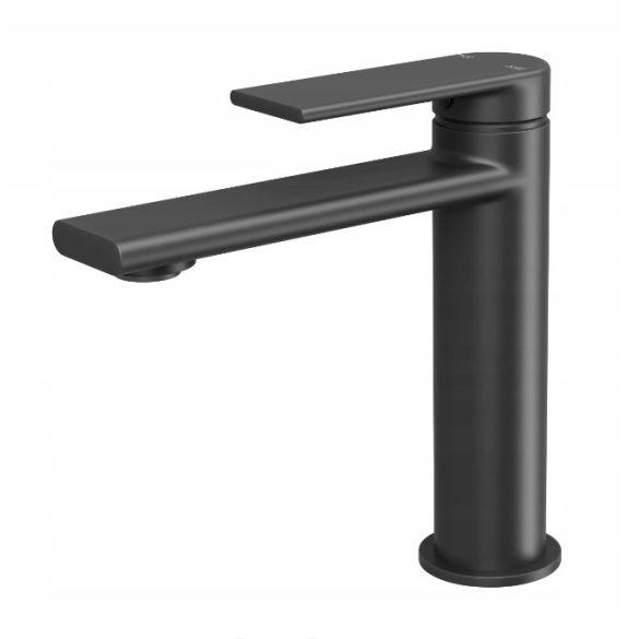 Gamma Rossa 3in1 mosdó + kádtölő csaptelep + zuhanyszett - fekete