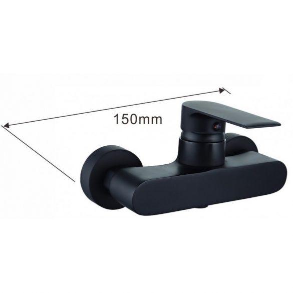 Mexen Royo zuhany csaptelep - fekete (72240-70)