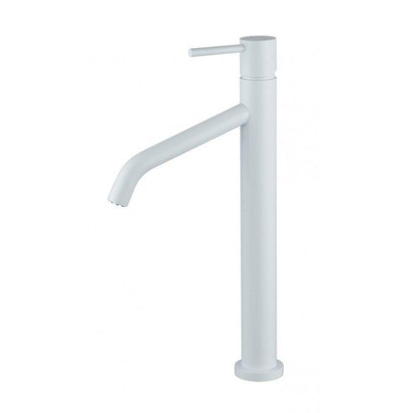 Mexen Rumba magasított fürdőszobai mosdó csaptelep - fehér (73510-20)