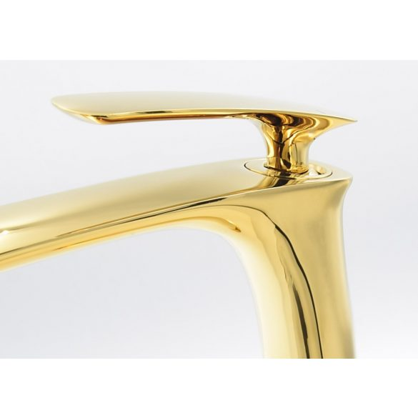 Gamma Trend magasított mosdó csaptelep - arany
