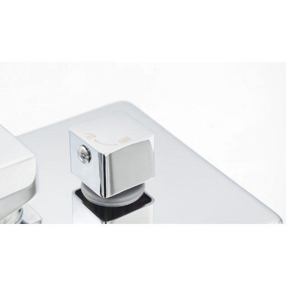 Gamma ZN6 falsík alatti zuhanyrendszer - króm